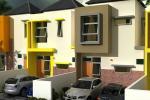 Rumah baru lantai 2 di Perumahan Boundary Garden