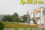 Tanah Kavling Siap bangun di Townhouse house Bintaro
