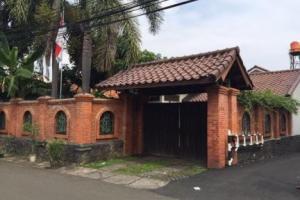 Rumah Klasik Kayu Jati di Pasar Minggu