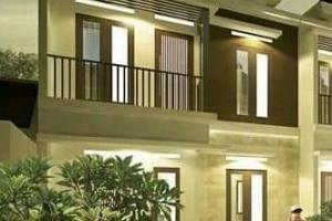 Rumah Baru Tingkat Nuansa Bali Carport 2 Mobil Lokasi di Arco Sawangan Depok