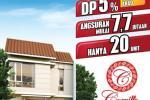 Rumah Carrillo Residence bisa KPR DP 5% langsung akad 10% di subsidi