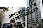 Sewa Ruang Kantor di Sonatopas, Jend. Sudirman - Jakarta. Hub: Djoni - 0812 86930578