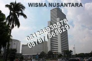 Sewa Ruang Kantor di Wisma Nusantara, MH. Thamrin - Jakarta. Hub: Djoni - 0812 86930578