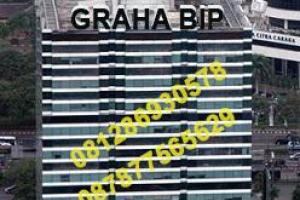 Sewa Ruang Kantor di Graha BIP, Jend. Gatot Subroto - Jakarta. Hub: Djoni - 0812 86930578