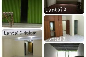 Ruko 4 Lantai, Seberang Sunter Mal, Baru Renovasi & Cat Ulang