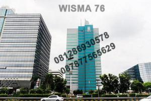 Sewa Ruang Kantor di Wisma 76, Letjend S. Parman - Jakarta. Hub: Djoni - 0812 86930578