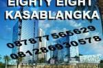 Sewa Ruang Kantor di Eighty Eight Kasablanka, Casablanca Raya - Jakarta. Hub: Djoni - 0812 86930578