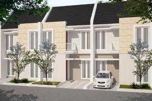 Rumah Baru 2 Lantai Dijual Desain Minimalis di RTM Kelapa Dua Depok
