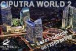 Jual Ruang Kantor di Ciputra World 2, Prof. DR. Satrio - Jakarta. Hub: Djoni - 0812 86930578